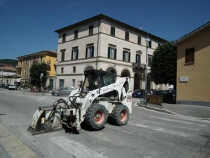 Viale Bigioli a San Severino