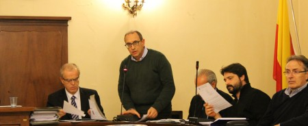 Il sindaco Tommaso Claudio Corvatta