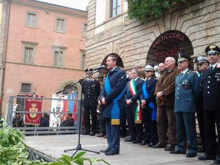 Il saluto del presidente del consiglio provinciale di Macerata Paolo Cartechini