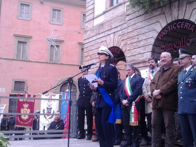 il comandante della Polizia Locale di Tolentino, Maria Cristina Ascolani