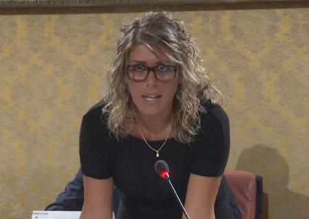 L'assessore al bilancio Silvia Luconi