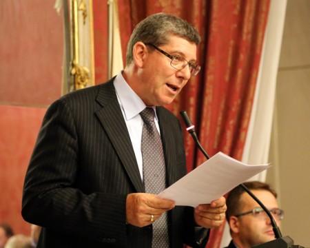 il presidente del Consiglio Romano Mari