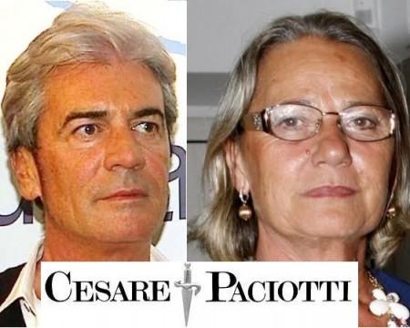 Cesare Paciotti e Paola Paciotti