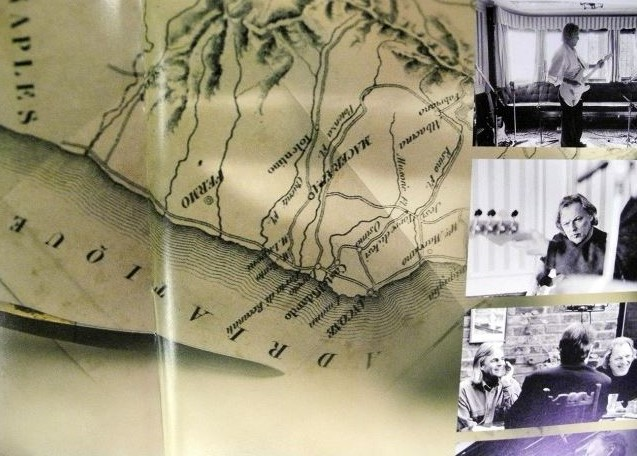 La mappa contenuta nel nuovo album dei Pink Floyd
