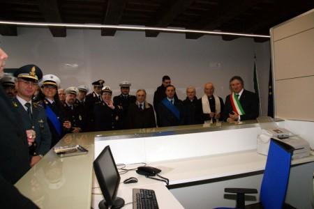 La nuova sede della polizia locale di Tolentino inaugurata sabato scorso