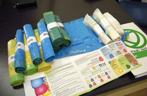 Il nuovo kit di sacchetti per la raccolta differenziata