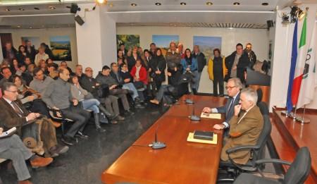 I dipendenti delle Province hanno incontrato il governatore Spacca