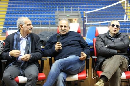 Giulio Silenzi, Mauro Mattucci e il sindaco Tommaso Corvatta