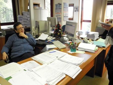 Antonella Corradetti dell'area servizi dell'Agenzia delle Entrate