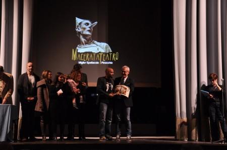 Carancini consegna il premio Perugini 2014
