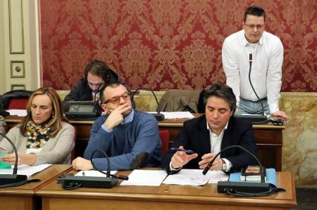 Deborah Pantana, Riccardo Sacchi e Fabio Pistarelli in Consiglio comunale oggi pomeriggio