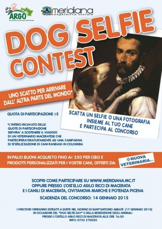 Dog selfie contest_locandina