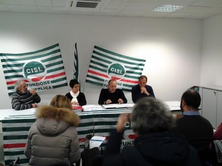 Foto conferenza stampa Cisl (1)