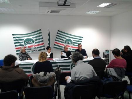 Foto conferenza stampa Cisl (4)