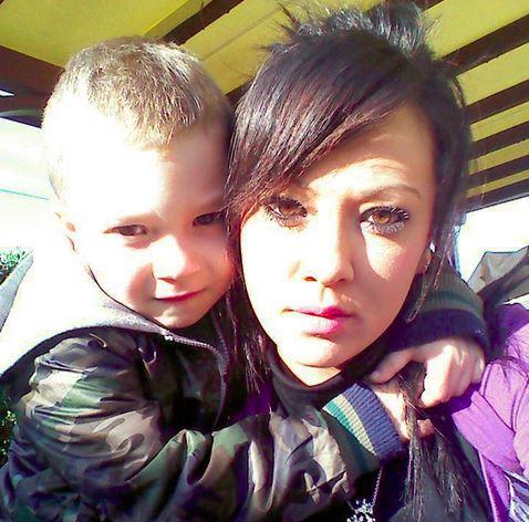 il piccolo Christina e la sua mamma