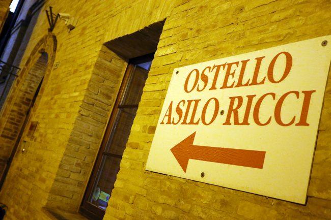 L'ostello Asilo Ricci