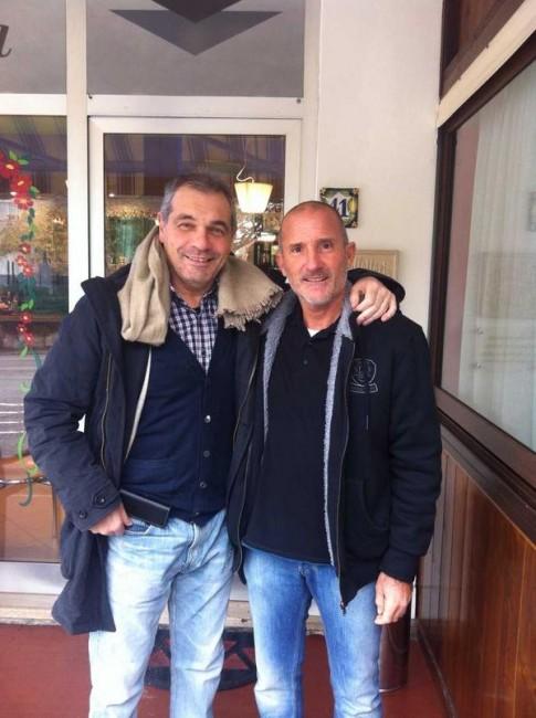 Giovanni Pagliari e Moreno Morbiducci