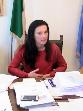 Il sindaco Sabrina Montali