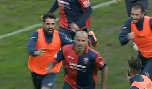 Il gol del 2 a 0 realizzato da Tozzi Borsoi