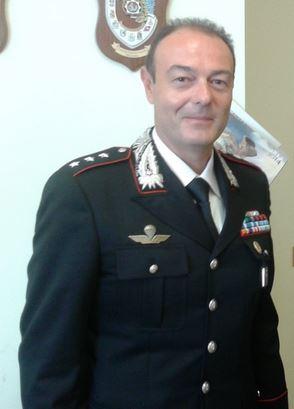 Il capitano Enzo Marinelli, comandante della Compagnia dei carabinieri di Civitanova. Il piano predisposto dai militari per catturare gli scippatori della Punto grigia ha avuto successo