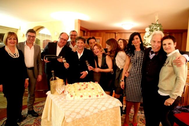 Tradizionale appuntamento a base di stoccafisso a casa di Germano Ercoli. festeggiato anche il compleanno di Umberto Antonelli