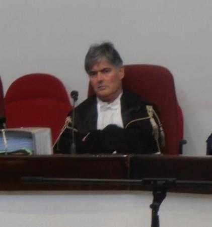 Il giudice Claudio Bonifazi