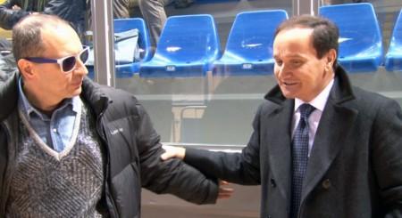 Tommaso Claudio Corvatta e Luciano Goffi (direttore  di Banca Marche)