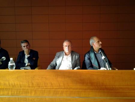 In assenza di Daniele Sparvoli, presidente dimissionario, l'assemblea è stata presieduta dal vice sindaco di Civitanova Giulio Silenzi