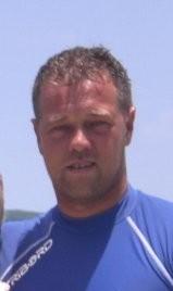 Christian Gambelli, titolare dello chalet