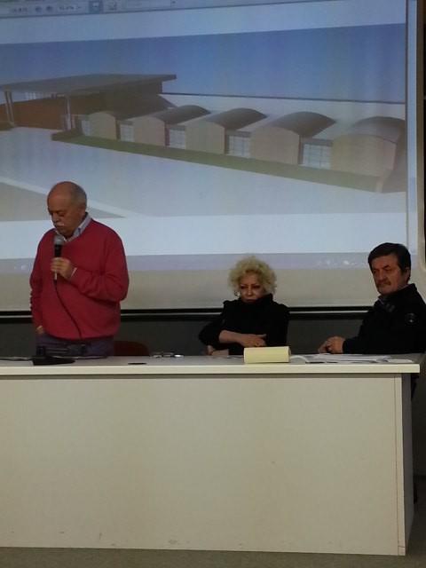 L'intervento del presidente Pettinari