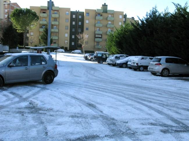 Neve a Collevario (foto di Guido Picchio)