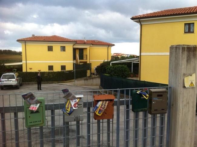 L'abitazione di via Urbino dove è avvenuta la tragedia