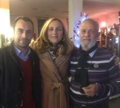 Da sinistra Mattia Orioli, Deborah Pantana e Gino Ramaccioni del comitato Frazioni per Macerata