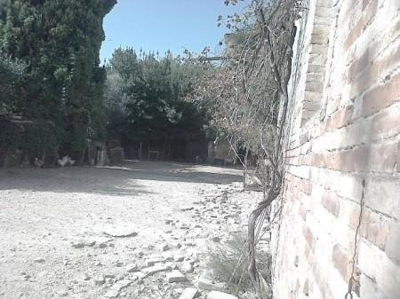 Il pollaio all'interno del monastero degli Zoccolanti