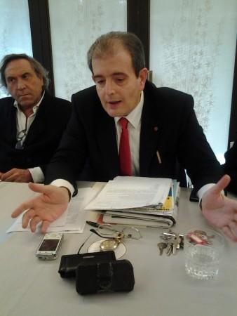 Il presidente del consiglio Ivo Costamagna