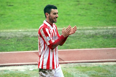 Marco Croce, centrocampista della Maceratese
