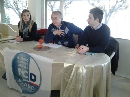 Maica Gabellieri, Francesco Massi e Antonio Nortesani