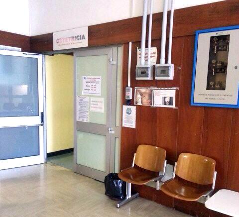 Il reparto di Ostetricia all'ospedale di San Severino