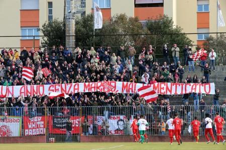 Oltre 500 tifosi maceratesi a Fano