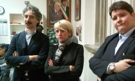 Al centro la senatrice Camilla Fabbri la cui candidatura ha raccolto diverse preferenze