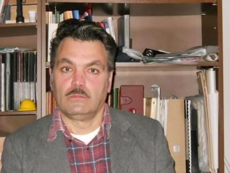 L'architetto Claudio Mecozzi