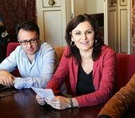 Gli assessori Bianchini e Monteverde