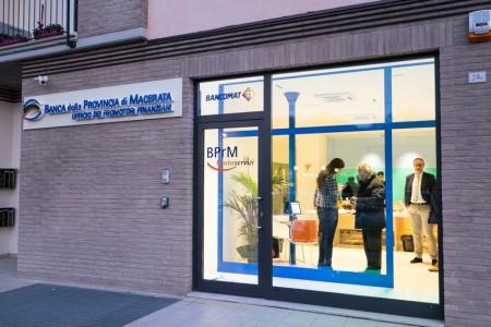 Il nuovo punto servizi a San Severino