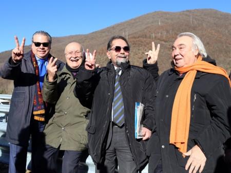 La soddisfazione di Mario Baldassarri e Gennaro Pieralisi