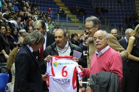 Corvatta con il presidente della Provincia Antonio Pettinari