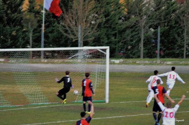 il terzo gol del Matelica