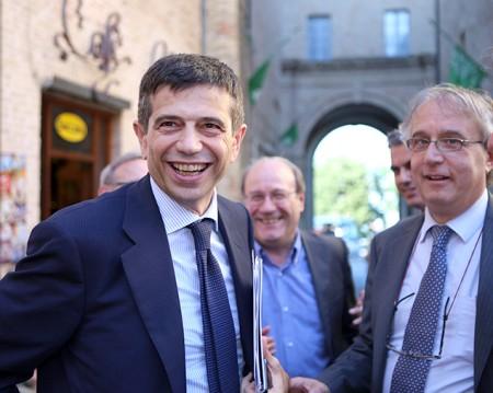 Maurizio Lupi e Francesco Massi