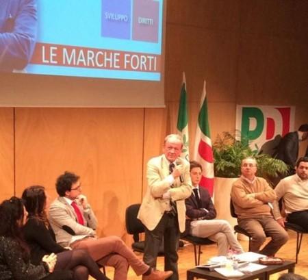 L'intervento di Pietro Marcolini al teatro Le Muse