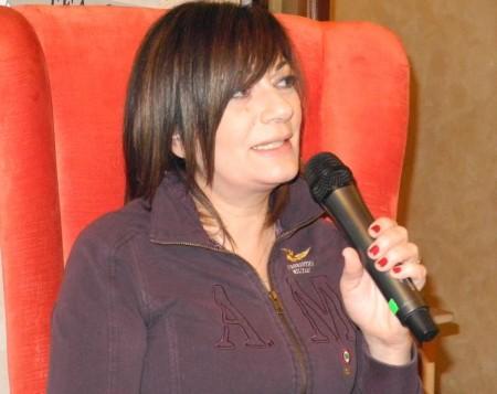La cantautrice Mariella Nava