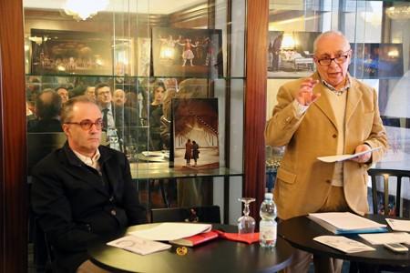 Mario Iesari e Piergiorgio Gualtieri hanno presentato alla stampa le linee d'indirizzo di un programma per Macerata